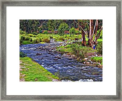 A Place Without Time Framed Print by Steve Harrington