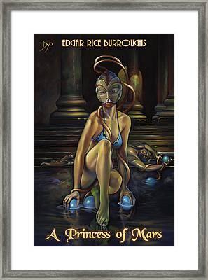 A Princess Of Mars Framed Print by Patrick Anthony Pierson