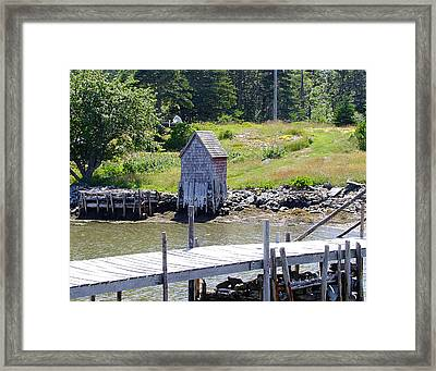 A Private Place Framed Print by George Cousins