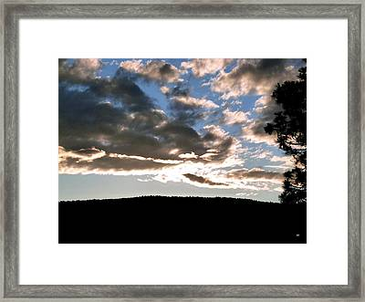 A Radiant Moment Framed Print by Will Borden