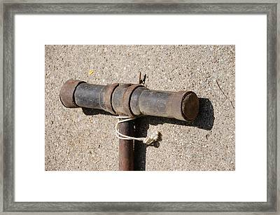 A Really Old Hammer Framed Print