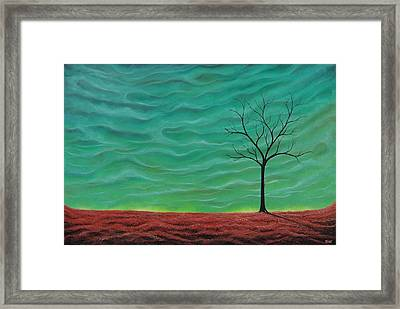 A Rhapsody Recalled Framed Print by Rachel Bingaman