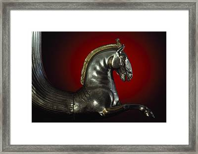 A Rhyton, Or Drinking Vessel, Shaped Framed Print by James L. Stanfield