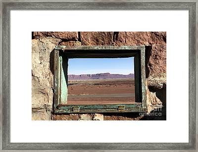 Framed Print featuring the photograph A Room With A View by Karen Lee Ensley