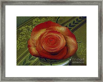 A Rose By Any Other Name Framed Print by Al Bourassa