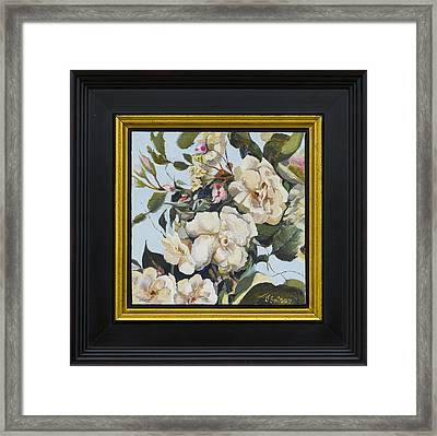 A Rose Is A Rose Framed Print