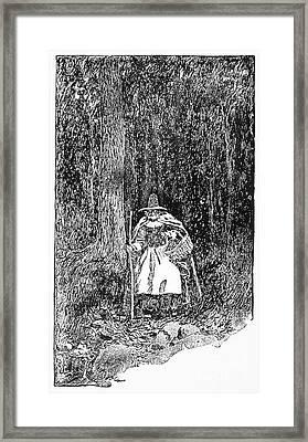 A Salem Witch, 1692 Framed Print