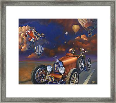 A Selfish Pair Of Jeans Framed Print by Patrick Anthony Pierson
