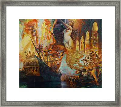 A Series - Discovery. Cruise Framed Print by Yury Fomichev