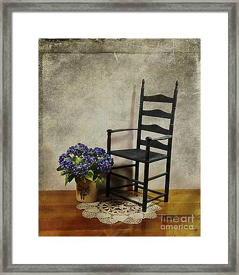 A Simpler Time Framed Print by Judi Bagwell