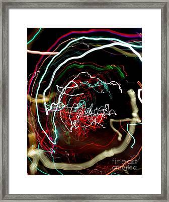 A Skewed Life Ahead Framed Print by Peter Piatt