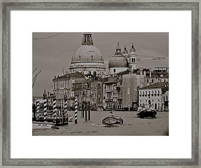A Slice Of Venice Framed Print by Eric Tressler