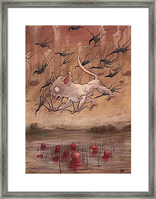 A Slip In The Loch         Framed Print by Ethan Harris