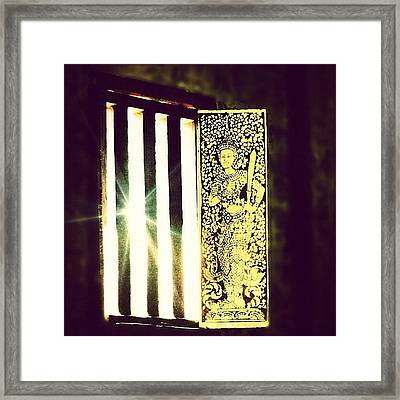 A Smile Is A Window On Your Face To Framed Print