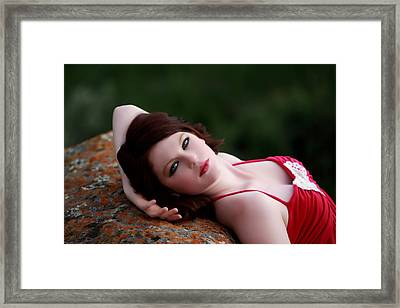 A Soft Pillow Framed Print by Waywardimages Waywardimages