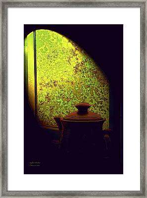 A Song To Poetry Framed Print by Itzhak Richter