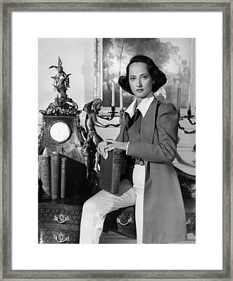 A Song To Remember, Merle Oberon, 1945 Framed Print