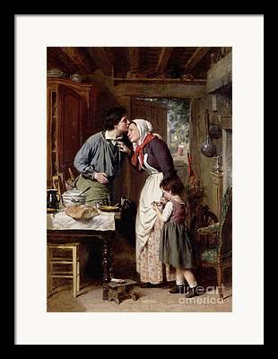 Pierre Jean Framed Prints