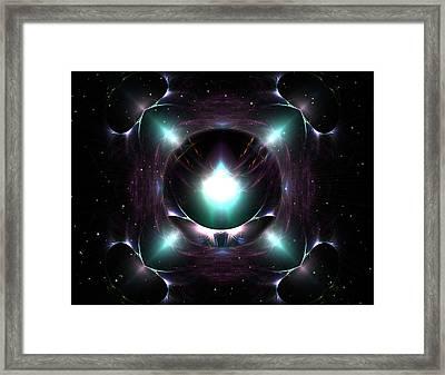 A Spacial Odyssey Framed Print by Mario Carini