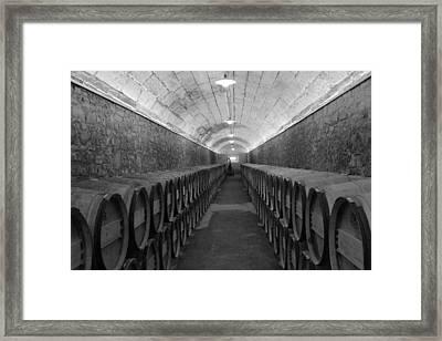 A Spanish Cellar Framed Print by John Stuart Webbstock