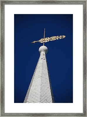 A Spire In New England II Framed Print by Dickon Thompson