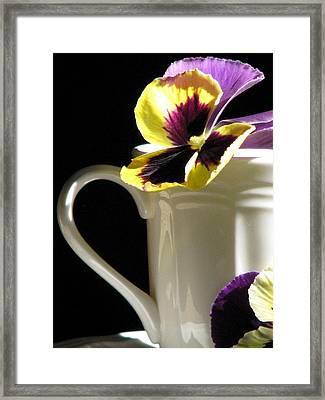 A Spring Brunch Framed Print by Angela Davies