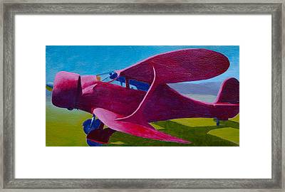 A Staggerwing Beech Framed Print by Ron Smothers