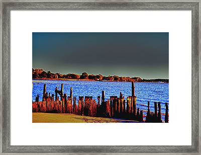 Framed Print featuring the photograph A Storm In The Sun by Kelly Reber