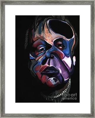 A Study For A Portrait Of Francis Bacon I Framed Print