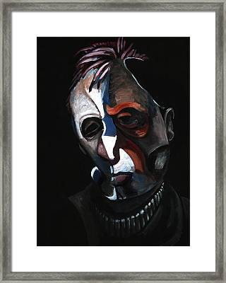 A Study For A Portrait Of Francis Bacon IIi Framed Print