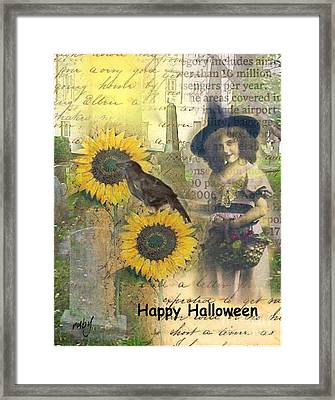 A Sunny Witch Day Framed Print