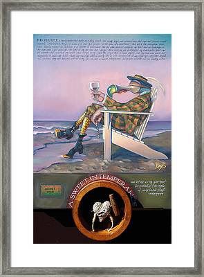 A Sweet Intemperance Framed Print