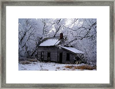 Framed Print featuring the photograph A Time Forgotten by Steven Clipperton