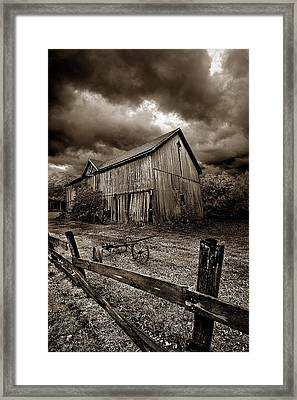 A Time Past Framed Print by Phil Koch