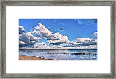 Framed Print featuring the photograph A Time To Reflect by Jim Moore