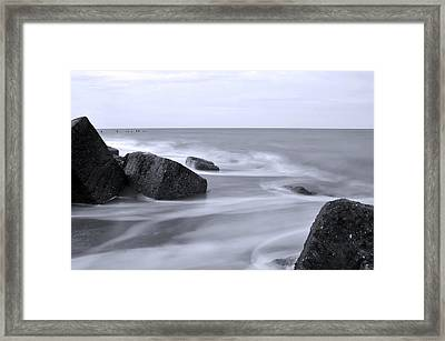 a Touch of Colour Framed Print by Svetlana Sewell
