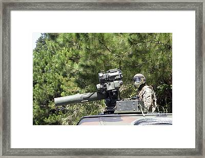 A Tube-launched, Optically-tracked Framed Print by Stocktrek Images
