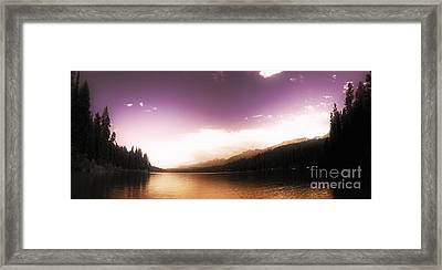 A Twist Of Fate Framed Print by Janie Johnson