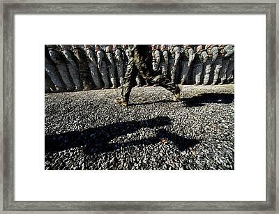 A U.s. Army Ranger School Instructor Framed Print