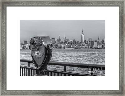 A View From New Jersey II Framed Print