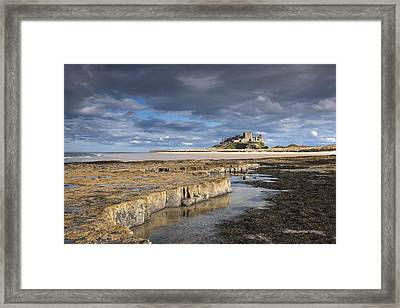 A View Of Bamburgh Castle Bamburgh Framed Print