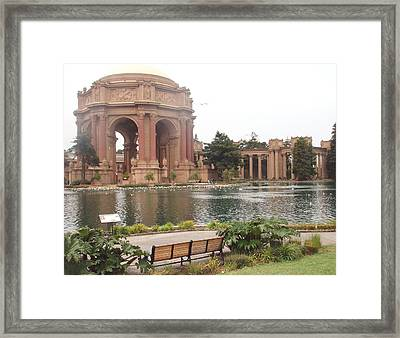 A View Of Palace Of Fine Arts Theatre San Francisco No One Framed Print