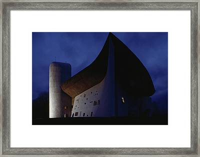 A View Of The Exterior Of The Chapel Framed Print by James L. Stanfield