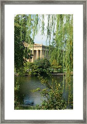 A View Of The Parthenon 1 Framed Print by Douglas Barnett