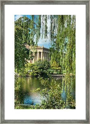 A View Of The Parthenon 11 Framed Print by Douglas Barnett