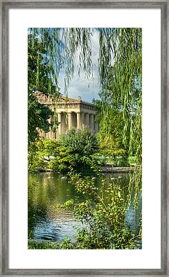 A View Of The Parthenon 13 Framed Print by Douglas Barnett