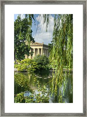 A View Of The Parthenon 16 Framed Print
