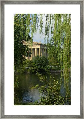 A View Of The Parthenon 3 Framed Print by Douglas Barnett