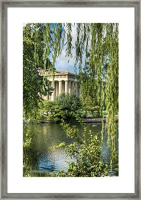 A View Of The Parthenon 5 Framed Print by Douglas Barnett