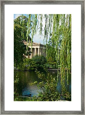 A View Of The Parthenon 7 Framed Print by Douglas Barnett